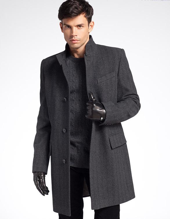 Модная верхняя одежда для мужчин мужские куртки, пальто и плащи подарят Вам